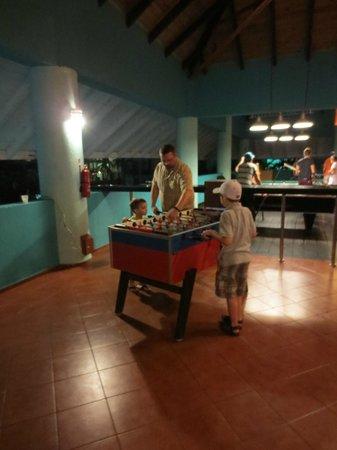 Grand Paradise Playa Dorada:                                     GAMES ROOM                                  