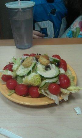 T Bonz Steakhouse of Augusta:                   Salad