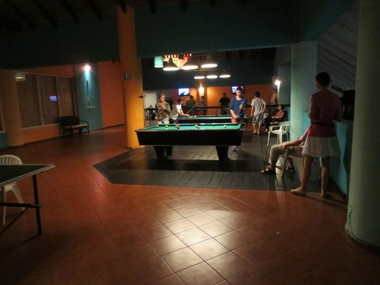 Grand Paradise Playa Dorada:                                     GAMES ROOM