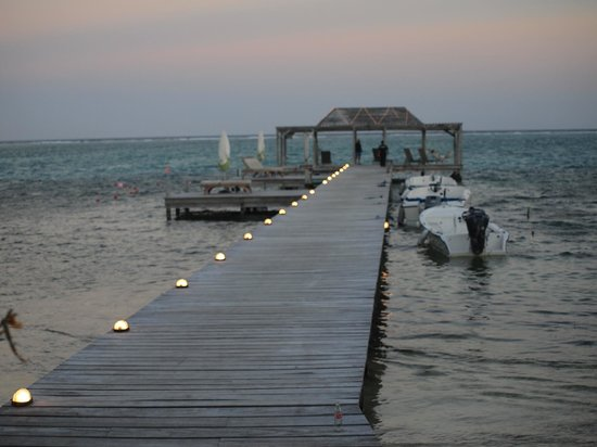 Matachica Beach Resort:                   Dock