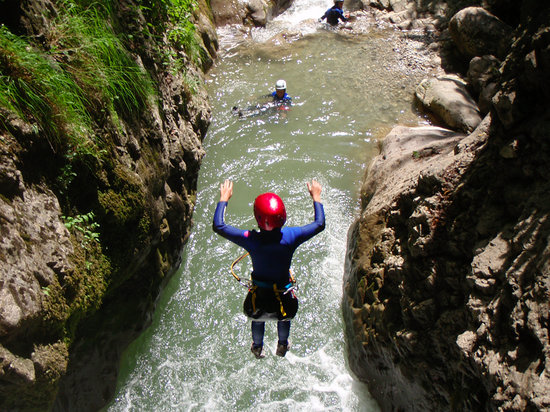 Annecy Aventure : Canyoning Annecy