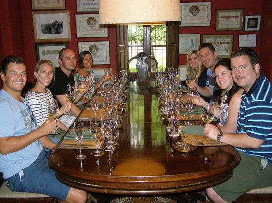 Posada El Encuentro: Lunch at the winery