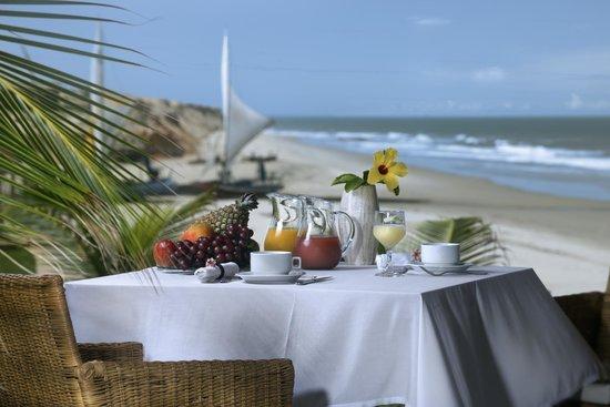 Hotel Vila Selvagem: Cafe da Manha frente ao ocean