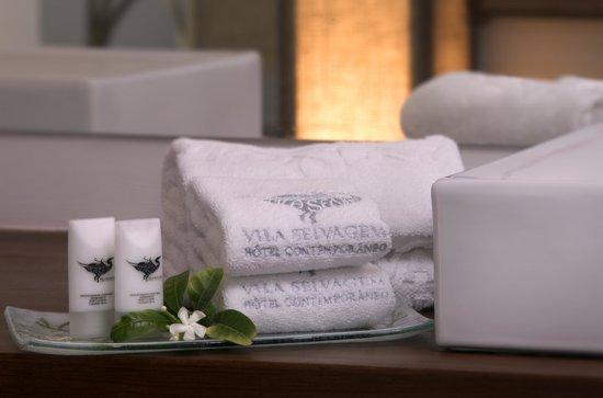 Hotel Vila Selvagem: Toalhas do Hotel