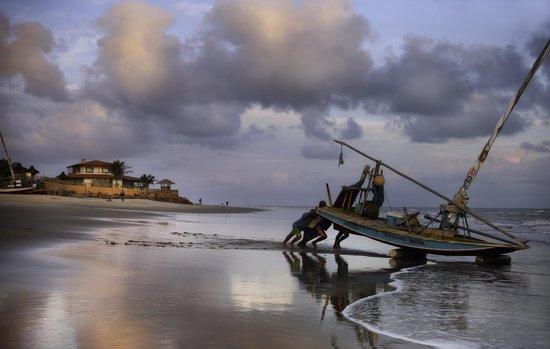 Hotel Vila Selvagem: Praia de Pontal de Maceio