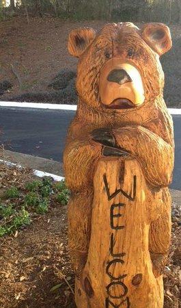 هوليداي إن آشفيل - بيلتمور إيست: Holiday Inn Bear Welcomes You!