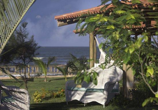 Hotel Vila Selvagem: Jardim vista mar