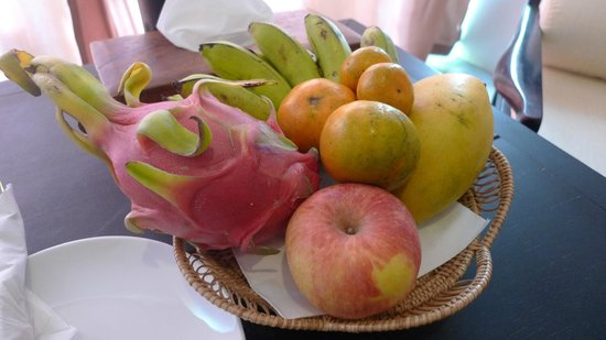 Bunwin Boutique Hotel:                   Complimentary fruit