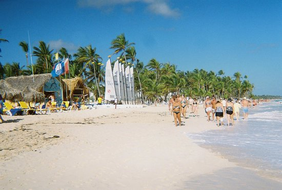Iberostar Bavaro Suites:                   View of the Punta Cana Beach