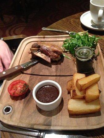 Hallmark Hotel Manchester:                   Restaurant Food