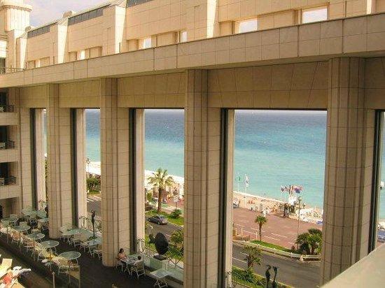 Hyatt Regency Nice Palais de la Mediterranee:                   balcony view