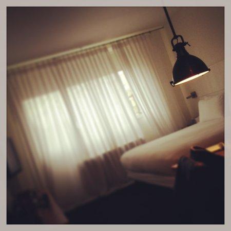 NU Hotel:                   Nice room