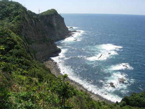 Cape Uppuruibana:                   十六島鼻