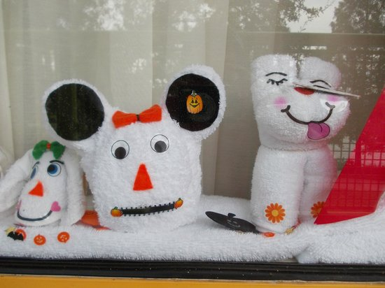 Disney's Pop Century Resort:                   our window