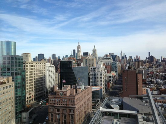 The Standard, East Village:                   View from Penthouse