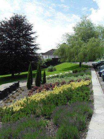 The Plough Inn: Side view of garden