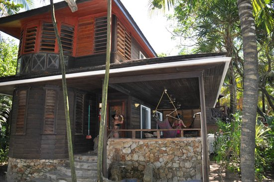 Bananarama Beach and Dive Resort:                   Our Villa