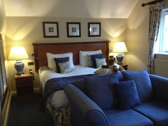 East Lodge Country House Hotel:                   Our Room