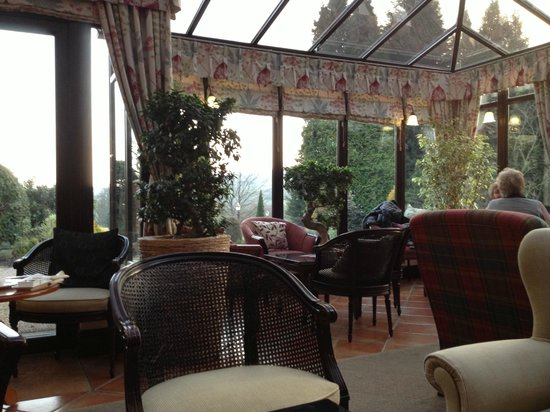 East Lodge Country House Hotel:                   Garden Room