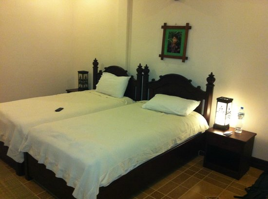 Villa Meuang Lao:                   Twin room