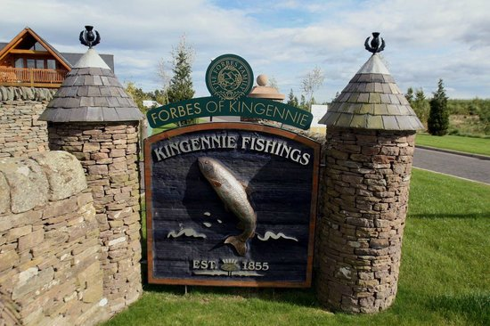 Leannan Boathouse: Fishing at Forbes of Kingennie