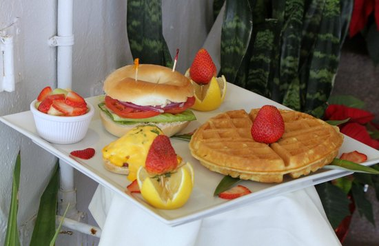 Beacon Hotel:                   Frühstück