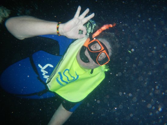 Sandals Montego Bay:                   Nighttime Snorkling Adventure....well worth it!