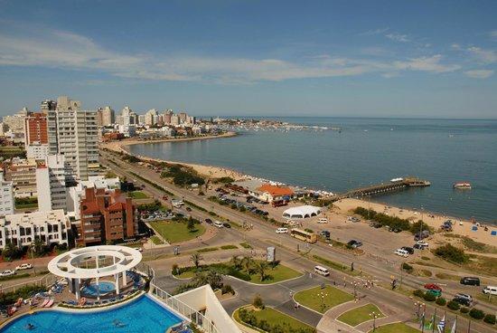 Conrad Punta del Este Resort & Casino: Marina view
