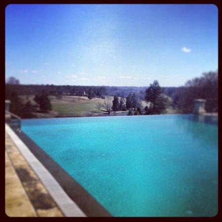 Keswick Hall:                   Infinity Pool