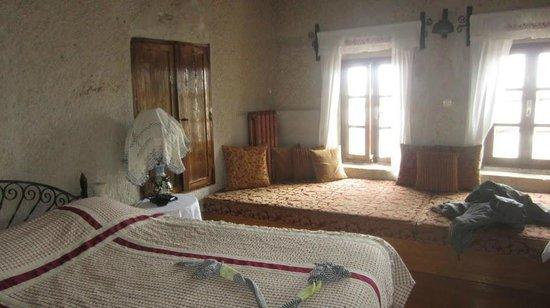 Cappadocia Cave Suites:                   Room 107 front windows