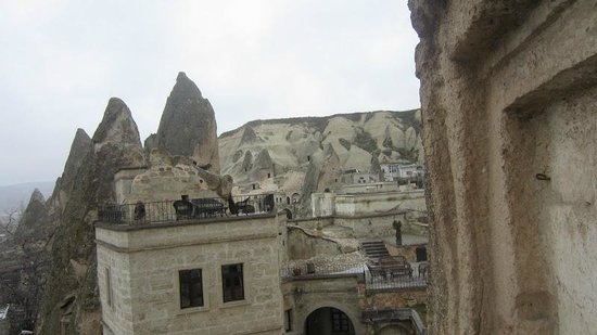 Cappadocia Cave Suites:                   view of grounds and surrounding area