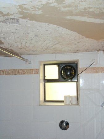 Casablanca:                   Parts of my bathroom ceiling had fallen down...