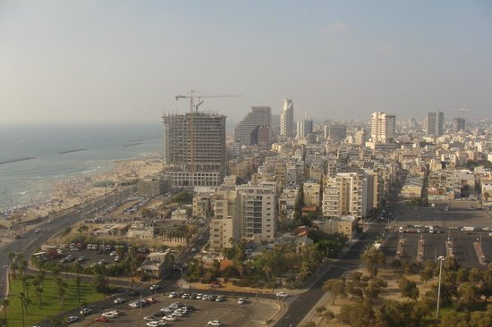 InterContinental David Tel Aviv:                   Вид из номера