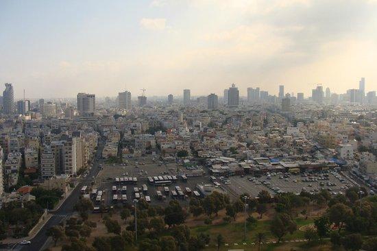 InterContinental David Tel Aviv:                   Вид из номера