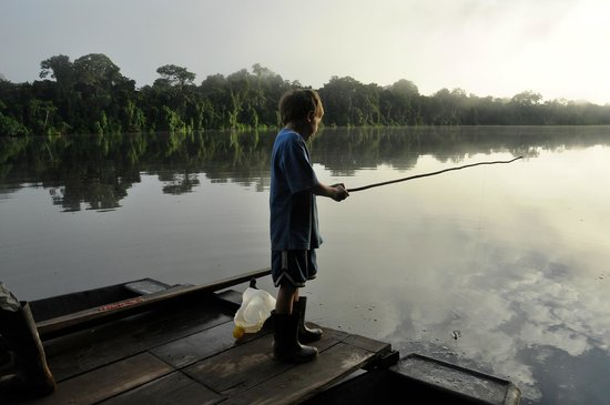 Posada Amazonas:                   fishing