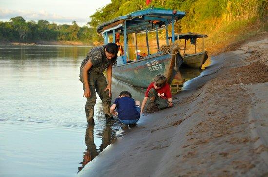 Posada Amazonas:                   Sandcastle
