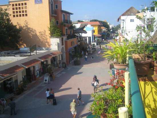 Hotel Pension San Juan:                   vue du balcon