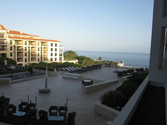 Melia Madeira Mare Resort & Spa :                   View from our room at twilight