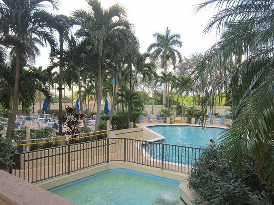 Embassy Suites by Hilton Boca Raton:                                     Pool area