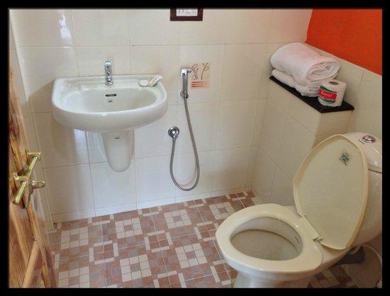 Royal Mist:                                     Superclean bathroom!