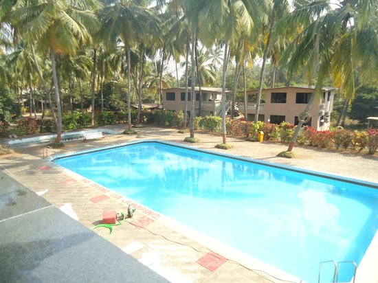 Pearline Beach Resort:                   The beautiful cottages & rooms overlooking the swimming pool