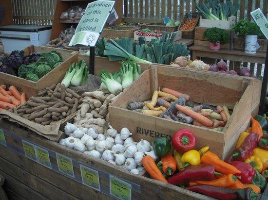 Ben's Organic Farm Shop and Cafe: Organic Vegetables