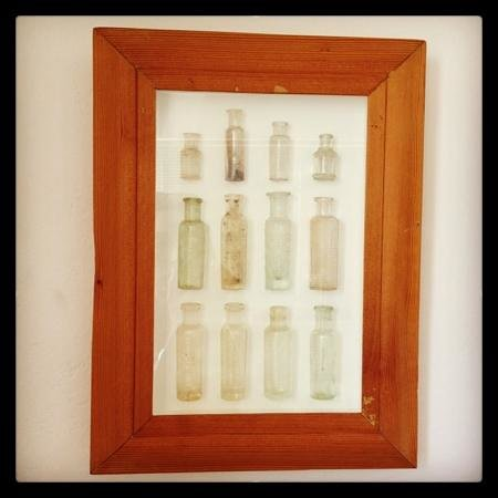 Whalesong Lodge:                   Bottle collection wedding suite
