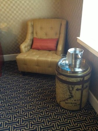 Kimpton Hotel Monaco Baltimore Inner Harbor:                   just adorable