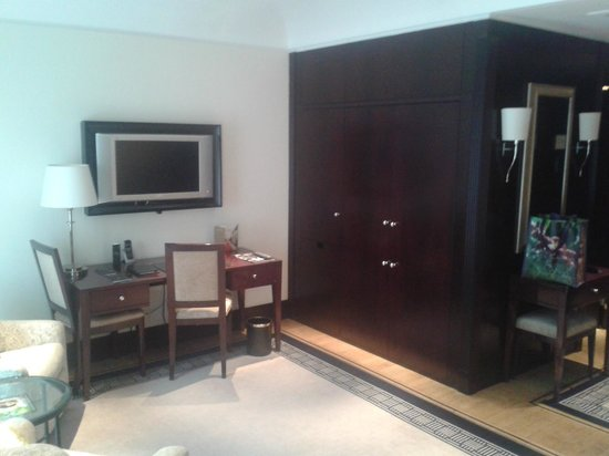Hotel Adlon Kempinski:                   Zimmer