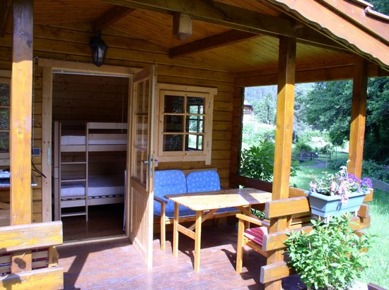 Camping Muellerwiese : Log cabin no 1