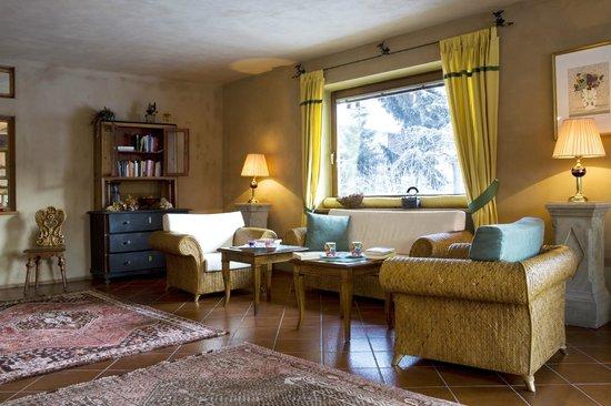 Hotel Garni Senfter: la zona leaving