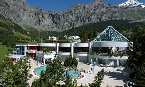 ‪‪Leukerbad‬, سويسرا: Leukerbad Therme‬