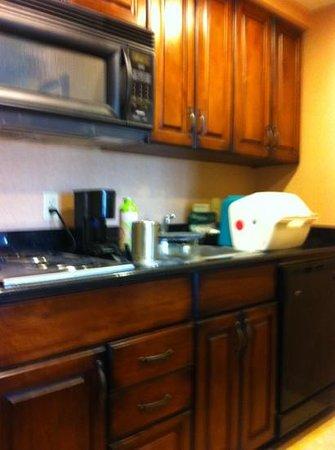 Homewood Suites Pensacola-Arpt (Cordova Mall Area):                   kitch