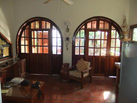 Villas Nicolas:                   VIEW FROM UNIT